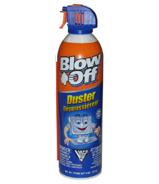 Blow Off Blow Off Air Duster - Removes Dust & Dirt