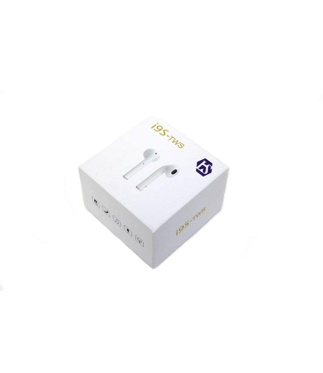 Écouteur Bluetooth pour iPhone ou Android, Blanc, I9 TWS