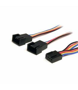 Câble répartiteur en Y pour ventilateurs 4 broches de 31 cm - F/M FAN4SPLIT12