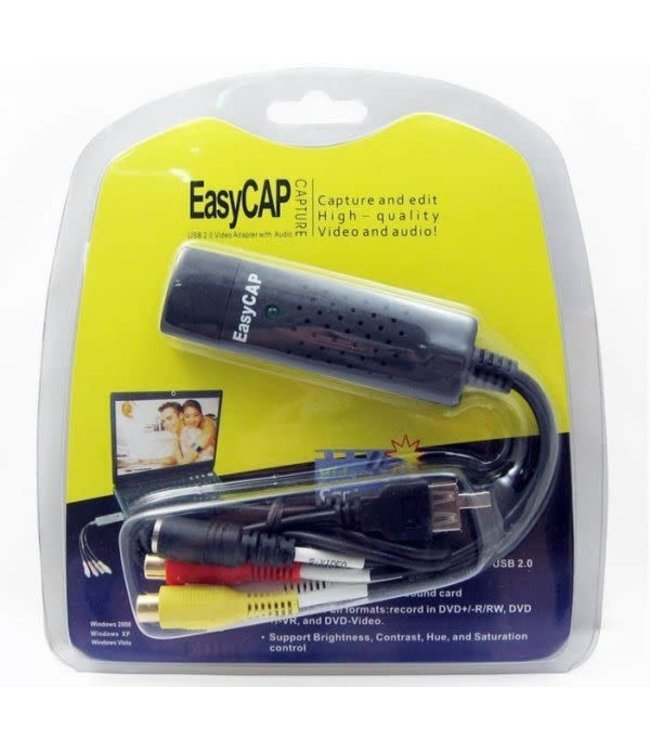 Generic Capture Video EasyCap RCA vers USB