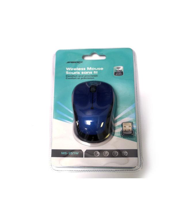 SPEEDEX Souris Sans Fil Speedex Bleu MS-251W
