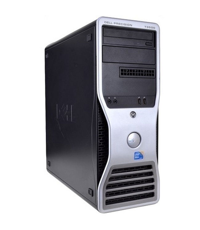 Dell Precision T3500 Xeon-W3250@3.07Ghz/12Go/500Go/Win10