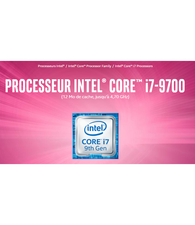 Intel Intel Core i7-9700 @ 3.0Ghz LGA1151