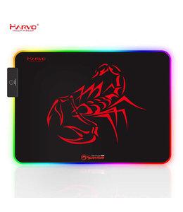 Marvo Tapis de souris Marvo Scorpion Gaming RGB MG08