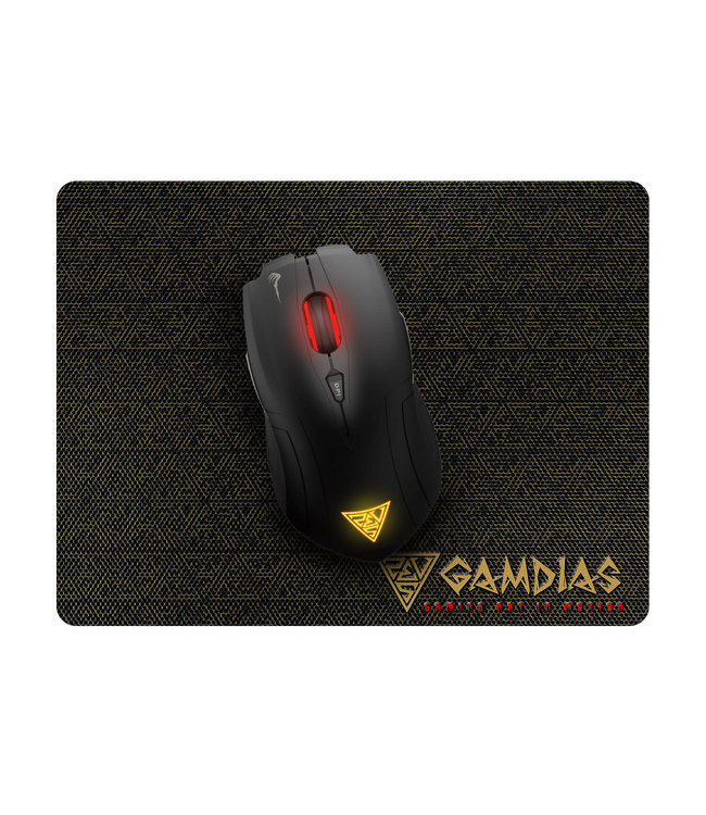 Gamdias Gamdias Demeter E1 Gaming souris  + tapis de souris NYX E1 Gaming