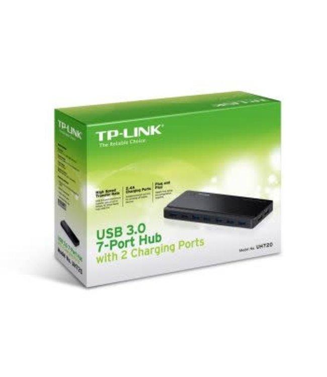 Tp-Link Concentrateur/Hub TP-Link USB 3.0 à 7 ports avec bloc d'alimentation TL-UH720