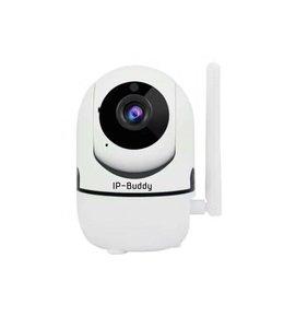 Generic Caméra IP-Buddy avec suivi de mouvement, Wi-Fi, Carte Micro SD, Infrarouge, 2 MP, 1080P, Rotation 355°, Intérieur