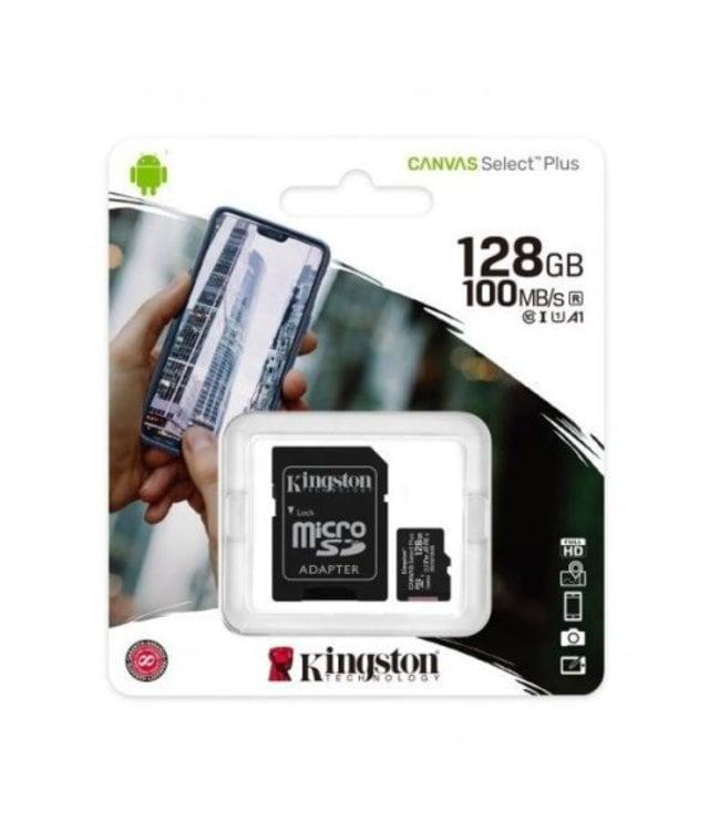 Kingston 128GB Canvas Select Plus avec adaptateur SDCS2/128GBCR