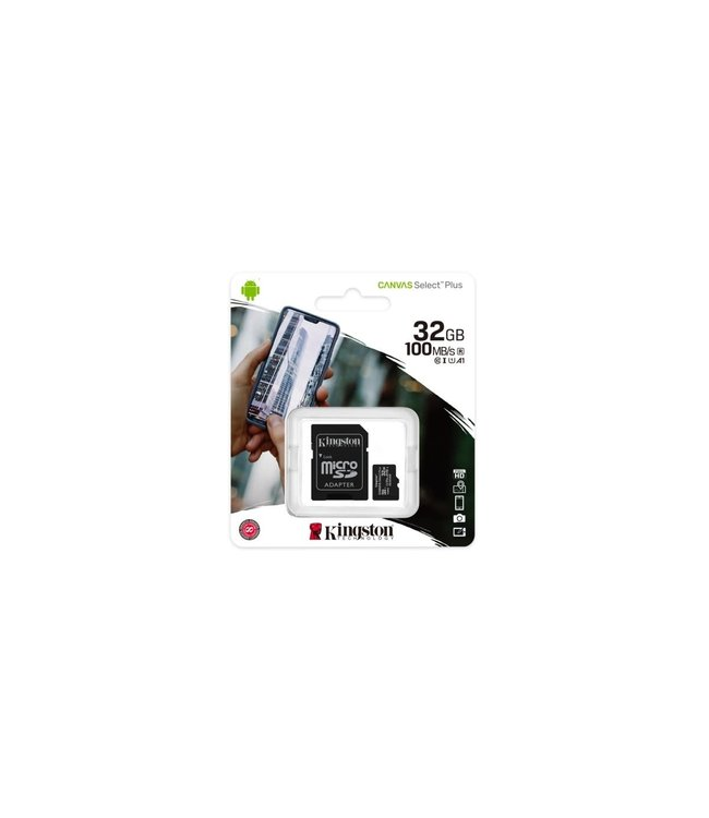 Kingston Kingston 32Go Micro SD Canvas Select Plus