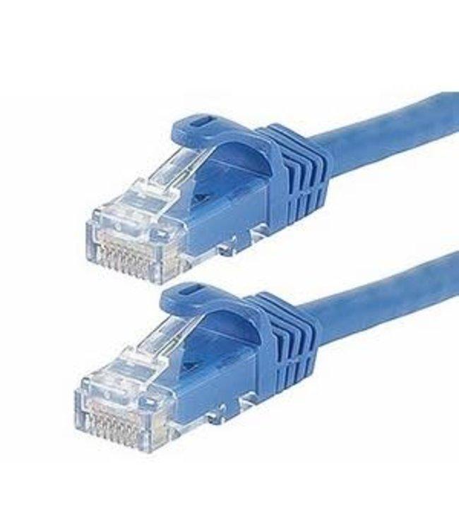 TopSync Câble réseau Ethernet Cat6, Bleu, 25 pi/ft TopSync
