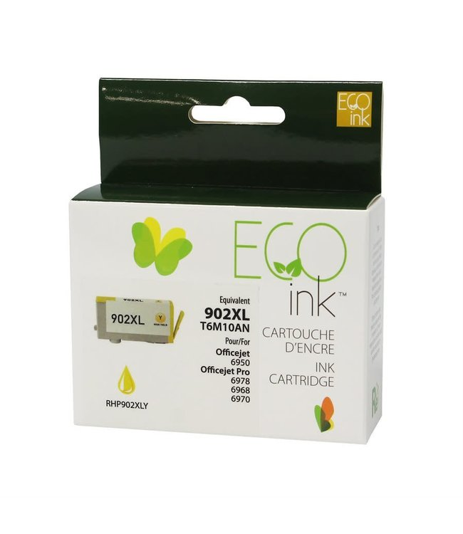 ECO ink HP 902XL  Jaune EcoInk