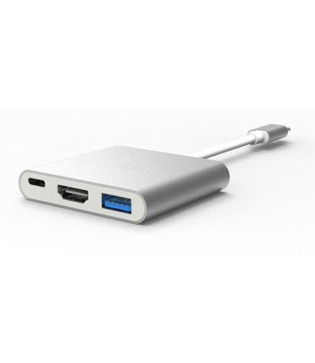 Generic Adaptateur Generic USB Type-C vers HDMI/USB3.0/Alim KHUB-C02SGR