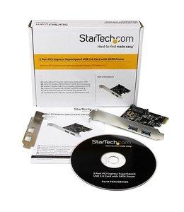 Startech Carte PCIe Startech 2x USB 3.0
