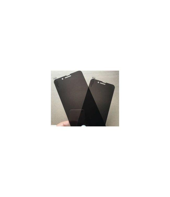 GlobalTone Protecteur écran en verre trempé teinté pour iPhone X