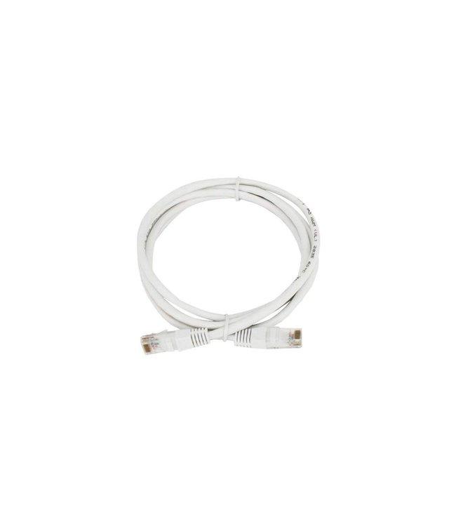 GlobalTone Câble réseau Ethernet Cat6, T568B, CCA, Blanc, 10 pi.