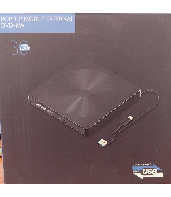 Graveur DVD Externe USB 3.0 avec Type-C