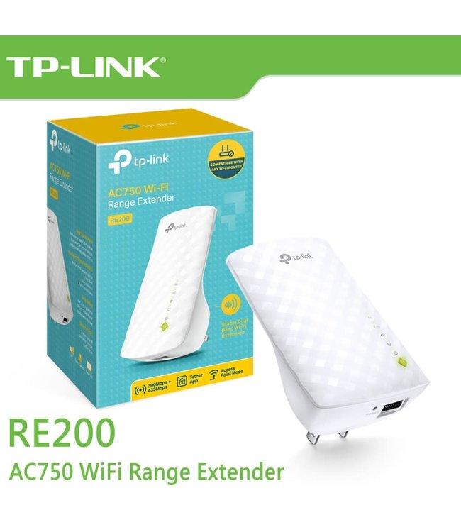 Tp-Link Extenseur de Portée WIFI 750Mbps  RE200