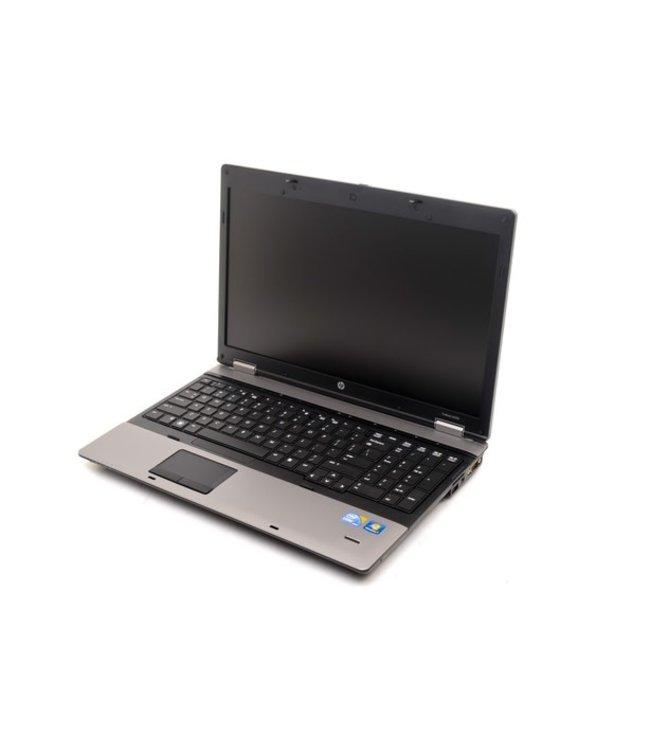 HP ProBook 6550b i5 M520@2.4Ghz/4Go/320Go/w10/No webcam