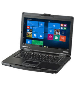 Panasonic Portable Panasonic CF-54 i5 6300U/8Go/240 Go SSD/win10/No webcam
