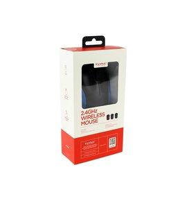 Marvo Marvo Office Souris sans fil 2.4G 3 boutons 3D DPI: 800/1200/1600 3 millions de clics Batterie 1xAA Bleu (DWM100BL)