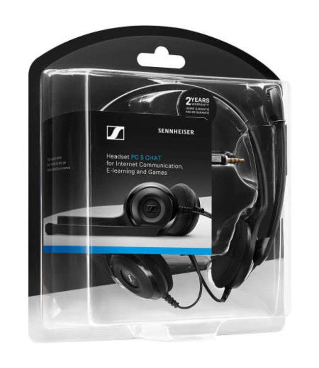 Sennheiser Sennheiser PC 5 Chat - casque d'écoute avec micro 3en un