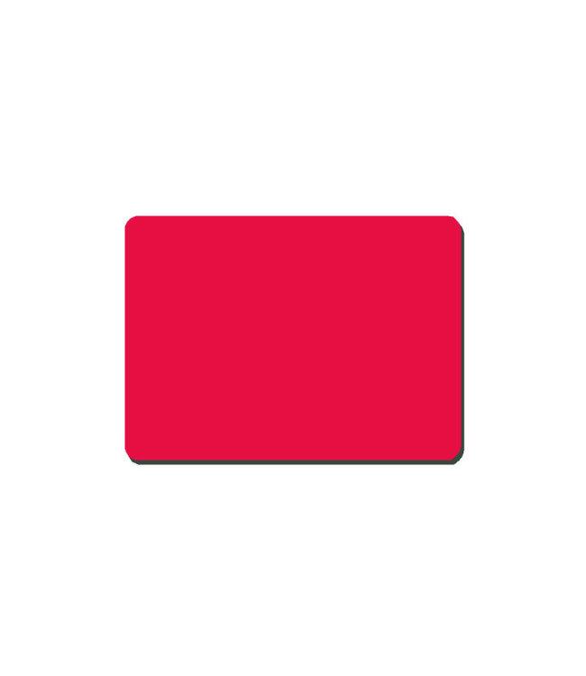 Tapis souris 24x19cm Rouge
