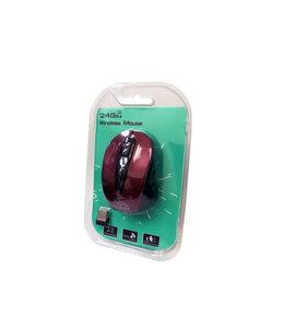 souris sans fil RF2804 Rouge