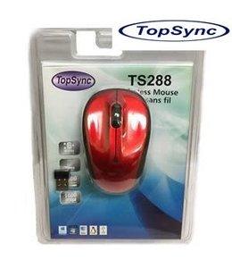 Souris sans fil TopSync M288 Rouge