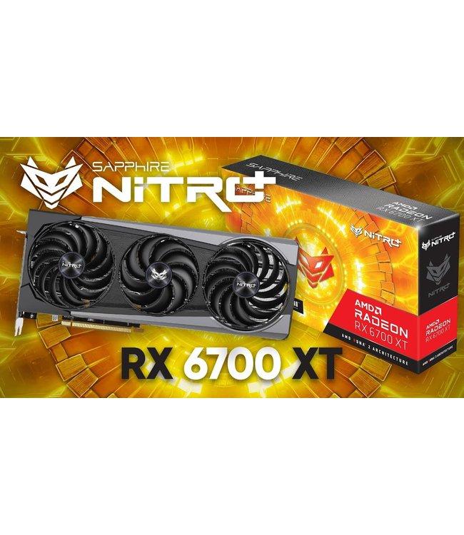 Sapphire Sapphire Radeon RX 6700 XT Nitro+ Gaming OC 12GB GDDR6