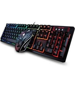 K13 Backlit USB Gaming Keyboard and Mouse Combo