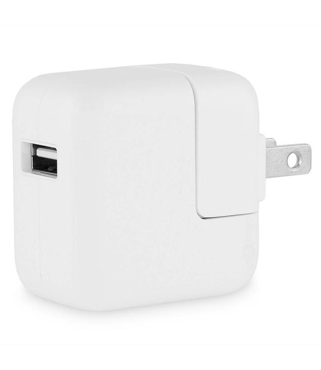 Adaptateur Apple 12w USB pour iPhone/iPad (2014+)