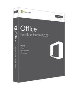 Microsoft Microsoft Office 2016 Famille et Etudiant pour Mac