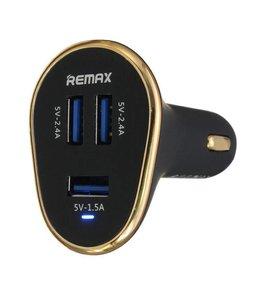 Chargeur universel 3 ports usb ultra rapide pour auto Remax