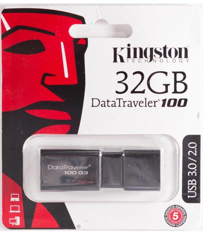 Clé USB 32Go Kingston DataTraveler 100 USB 3.0