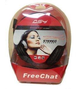 Écouteur avec Micro ASY Free Chat CD-209MV Prises 3,5 mm