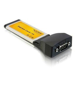 Adaptateur ExpressCard 34mm serie (RS-232)