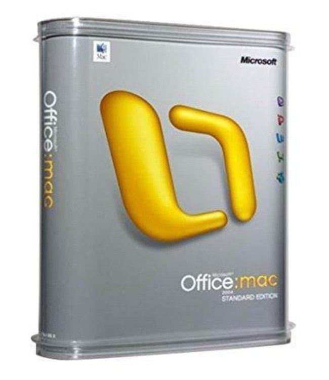 Microsoft Office 2004 MAC Standard Edition
