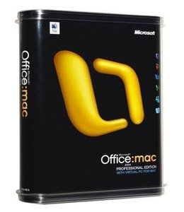 Microsoft Office MAC 2004 Pro