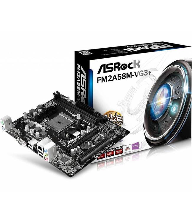 ASRock Asrock FM2A58M-VG3+ Socket FM2+
