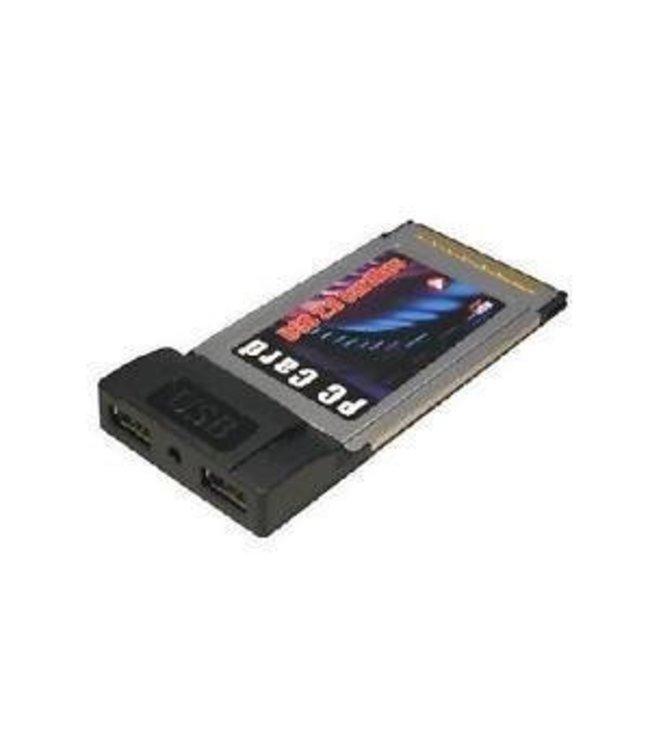 PCMCIA CardBus 2 port - USB 2.0