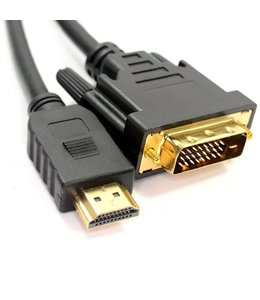 Cable DVI To HDMI 25 pieds