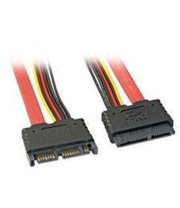 Extension de cable SATA combiné 18 pouce