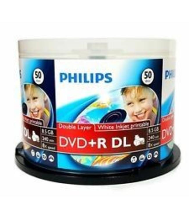 Philips DVD+R DL 50PC Imprimable