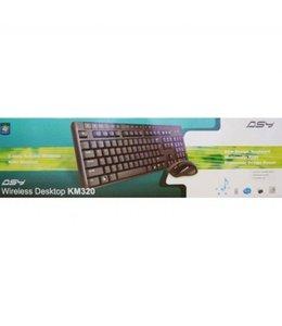 Ensemble clavier et souris sans fil ASY KM320