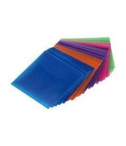 Pack 50 pochettes plastic multi-color