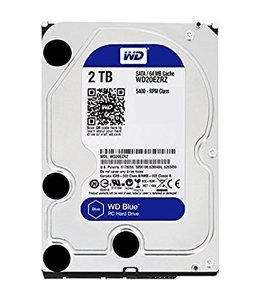 Disque Dur 2To 3,5'' Western Digital Blue WD20EZRZ