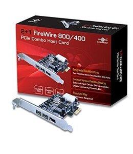 Carte PCI-e Vantec UGT-FW210 FireWire 800/400