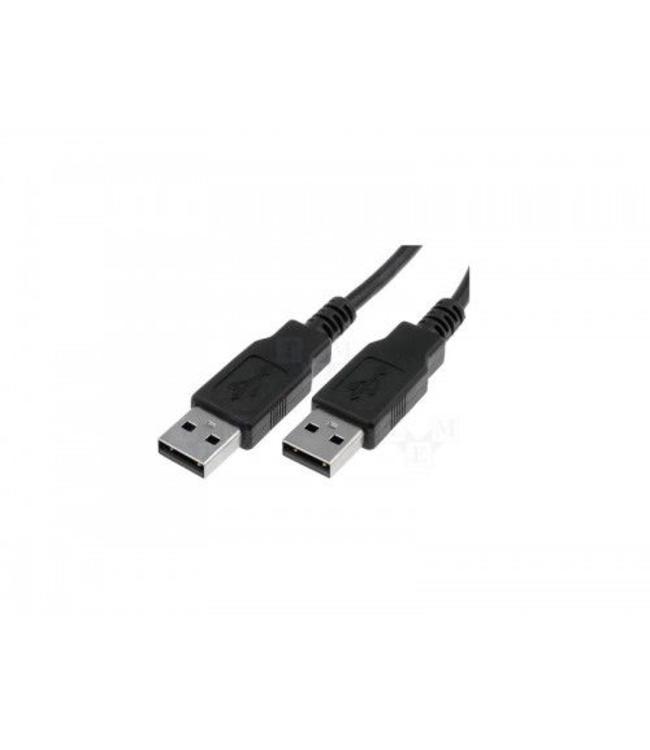 Câble USB 2.0 A Mâle à A Mâle, Noir, 6 pi.