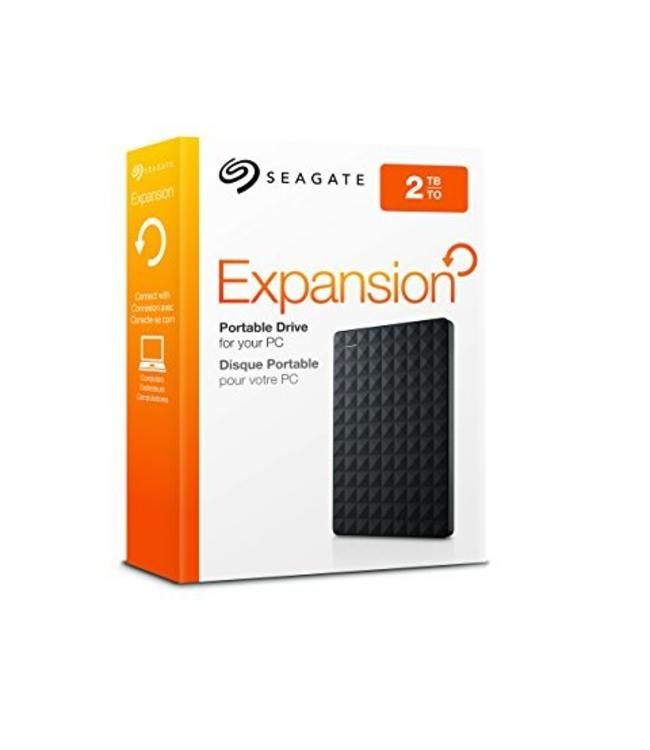 """Seagate External Hard Drive 2,5"""" Seagate 2To Expansion"""