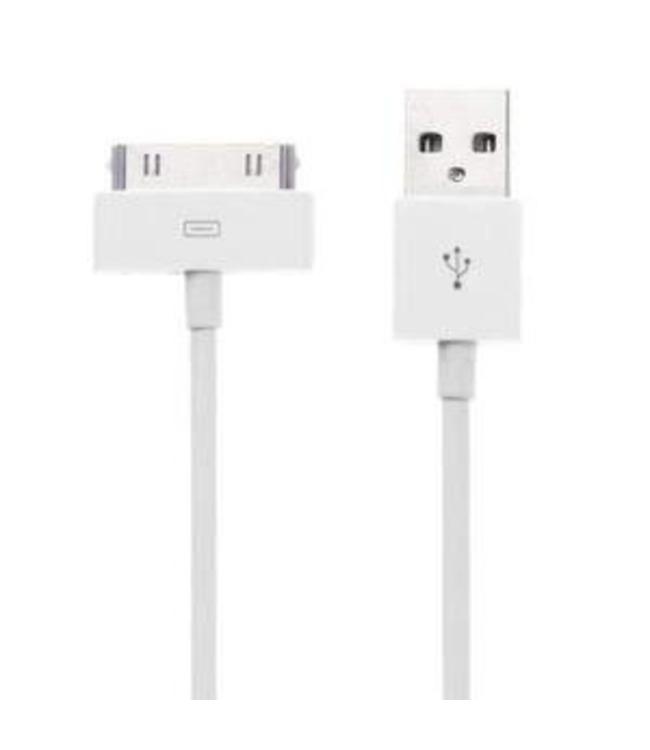Apple Câble Générique Apple connecteur 30 broches vers USB pour Apple iPhone/iPod/iPad